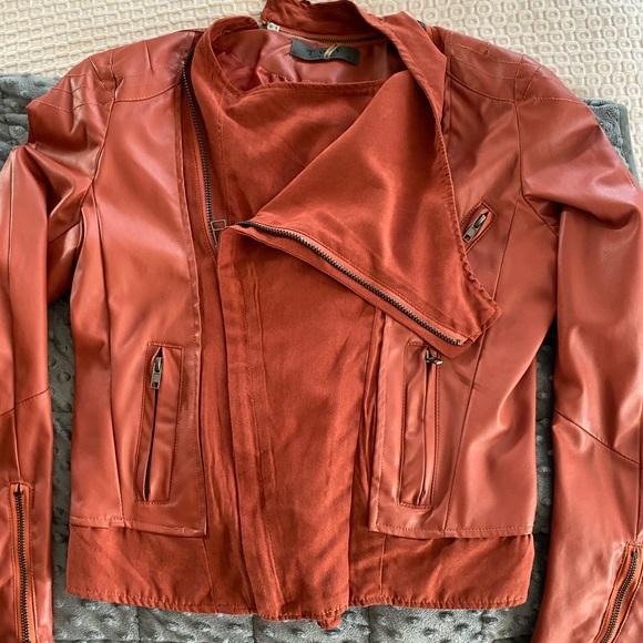 Mixed media jacket